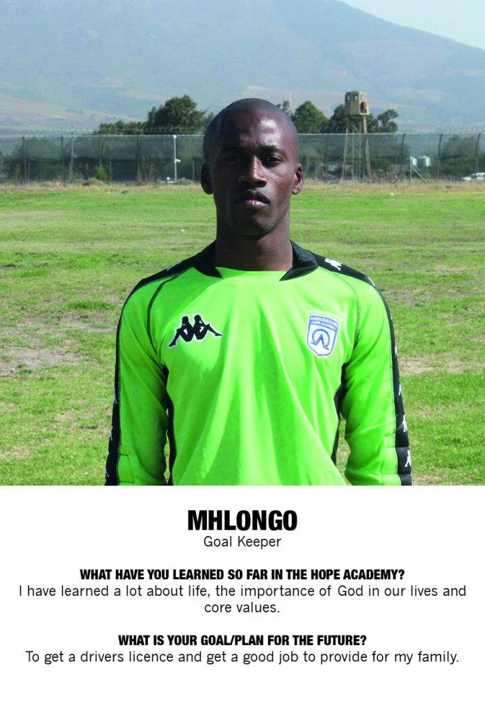 Invest in Mhlongo